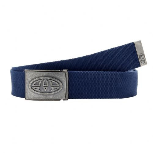 ANIMAL MENS BELT.REXX NAVY BLUE WEBBING TROUSERS JEANS STRAP & BOTTLE OPENER S20